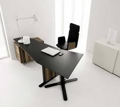 modern minimalist office. simple black office desk modern minimalist