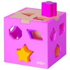 «<b>Сортер</b> woody Сортировочный <b>куб</b> с фигурами» — Детские ...