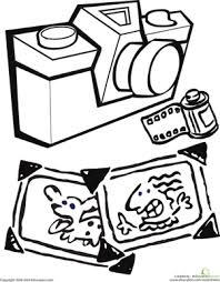 Small Picture Camera Worksheet Educationcom
