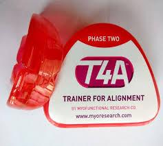 mrc dental teeth trainer t4a phase 2 myobrace trainer alignment mrc orthodontic red