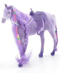 """Игрушка флокированная """"<b>Лошадь"""" с косой</b> 12.5"""" <b>Bondibon</b> ..."""
