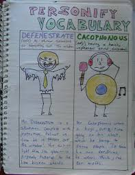 always write personifying vocabulary writing about new words click here to see an enlarged version of my language arts vocabulary personifications click here to see an enlarged version of my writing across the