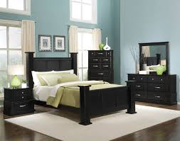 blue bedroom black furniture photo 1 black blue bedroom