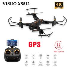 <b>VISUO XS812 GPS 5G</b> WiFi FPV With 4K FHD Camera 15mins ...