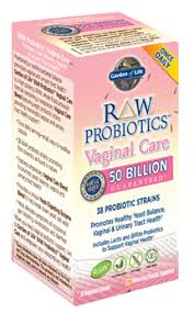 <b>RAW Probiotics Vaginal Care</b> (30 vegetarian capsules) by Garden of ...