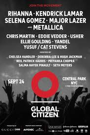 livestream global citizen festival stereogum