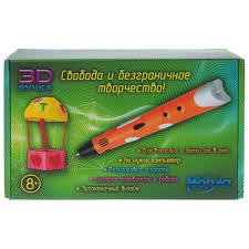 <b>Набор для творчества</b> 3D-ручка оранжевая <b>Honya</b> SC-1-orange ...