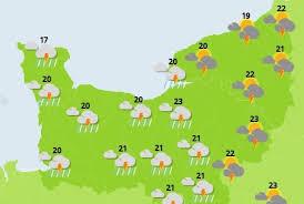 Pluie et orages en Normandie : la météo pour le jeudi 31 mai 2018
