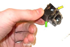 remove the threaded adjuster green arrow and the rubber insulator yellow arrow bmw z3 seat rail bushing