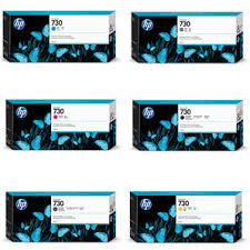 <b>HP 730</b>   DesignJet Ink Cartridges   T940   T1600   T1700   T2600