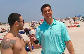Image result for jesse watters interviewing