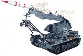 """<b>Конструктор XingBao</b> """"<b>Ракетная установка</b> SA-2"""" (1623 детали ..."""