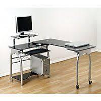 black glass office desk from homebase black glass office desk