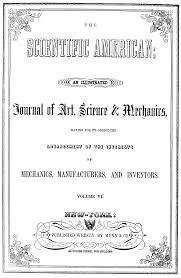 scientific american cover art scientific american title page volumes vi vii