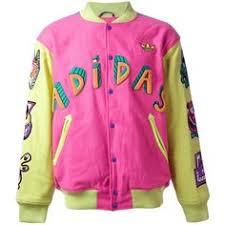 ADIDAS <b>Jeremy Scott</b> embroidered bomber <b>jacket</b> (1.580 BRL) liked ...