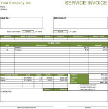 sample of invoices for services info 5 service invoice templates for word and excelacircreg invoice templates