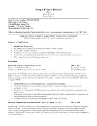 sample resume with summary of qualifications  seangarrette cosample federal resume for objective with summary of qualifications and experience    sample resume   summary of qualifications