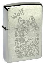 <b>Зажигалка ZIPPO</b> 200 <b>Wolf</b> купить на Zippo.ru