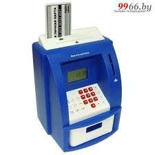 <b>Копилка для денег Эврика</b> Банкомат 91910 Blue купить в Минске ...