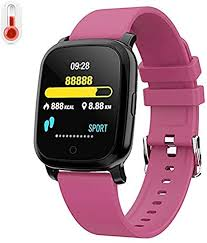 Measuring Thermometer, <b>Smart Watch</b> Thermometer, 1.30In TFT ...