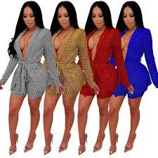 <b>Sexy Woman</b> Deep V <b>Split</b> Dress. Bodysuit Stitching Mesh ...