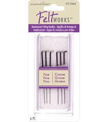 needle felting supplies felt applique kits jo ann dimensions replacement felting needles