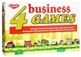 <b>Набор</b> настольных игр <b>Dream Makers</b> 4 экономические игры (8004)