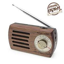 wooden radio portable radio
