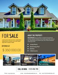 the best real estate flyer for all realty companies real estate flyer 3