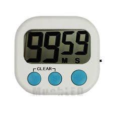 kitchen timer digital cooking loud