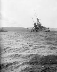 Scuttling of the German fleet at Scapa Flow