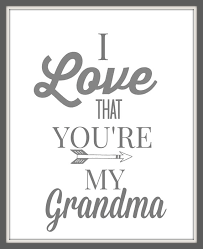 Free I Love My Grandma Picture Quotes | picturespider.com