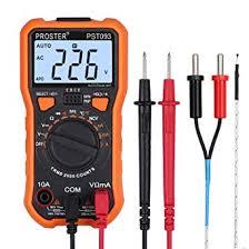 adm92 true rms automatic range voltage current resistance zero line firewire capacitance multimeter measurement tool