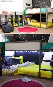 themed kids room designs cool yellow: mommo design ikea hacks for kids grey kura more