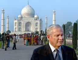 u s department of defense photo essay taj mahal in u s defense secretary robert m gates gives a brief statement to the press after receiving