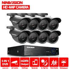 <b>4.0MP HD</b> 2560*1440P Outdoor Security <b>Camera</b> System 1080P 2K ...