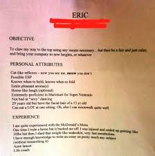 resume resume funny resume funny photo full size