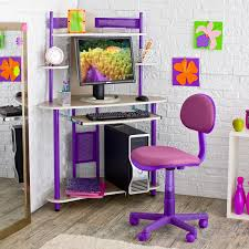 beautiful beige finish wooden corner desk for small spaces with purple polished steel legs plus cute stunning corner computer desk with glossy black adorable small black computer