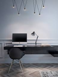 office large size cool lighting for home office interior design with floating black filename desk best lighting for home office