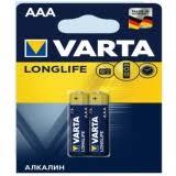 Отзывы покупателей о <b>Батарейка Varta LONGLIFE</b> AAA цвет ...