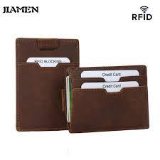 JIAMEN <b>Crazy Horse Leather</b> Draw Card <b>European</b> Package and ...