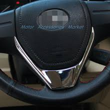 Новая <b>хромированная накладка на руль</b> для Toyota Corolla Auris ...