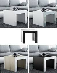 Furniture TESS 2 <b>COFFEE</b> TABLE WITH <b>HIGH GLOSS</b> PANELS ...