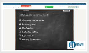 level  food hygiene  amp  safety online course   ncass trainingfood hygiene level  demo food hygiene level  test