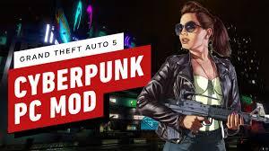 GTA <b>5</b>: Turn Los Santos Into <b>Night City</b> With This Cyberpunk PC Mod ...