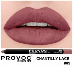 <b>Полуперманентный гелевый карандаш для</b> губ 09 Chantilly Lace ...