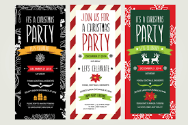christmas party invitation cards features party dress astonishing christmas party invitation card templates