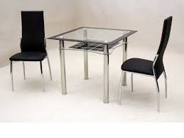 oak and glass dining table sets