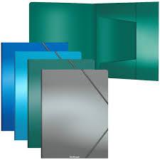 <b>Папка</b> на резинке <b>Erich Krause</b> «<b>Metallic</b>» <b>А4</b>, 600мкм, ассорти ...