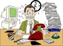 Image result for gambar orang stress